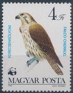 Hungary 1983 WWF - Birds of Prey e