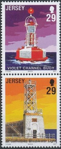 Jersey 2003 Lighthouses and Buoys a