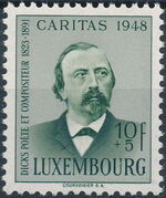 Luxembourg 1948 Edmond de La Fontaine d