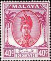 Malaya-Kedah 1950 Definitives k