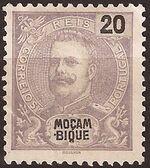 Mozambique 1898 D. Carlos I e