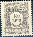 Mozambique 1904 Postage Due Stamps j