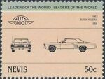 Nevis 1985 Leaders of the World - Auto 100 (3rd Group) o