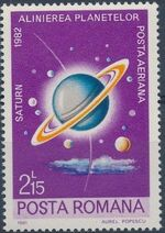 Romania 1981 Solar System Planets d