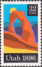 United States of America 1996 Utah Statehood Centenary a