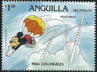 Anguilla 1984 Olympic Games Los Angeles h