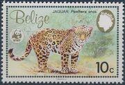 Belize 1983 WWF - Jaguar b