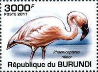 Burundi 2011 Birds of Burundi c