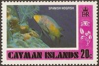 Cayman Islands 1978 Fishes (1st Issue) e