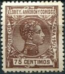 Elobey, Annobon and Corisco 1907 King Alfonso XIII j