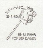 Finland 1989 EUROPA PSMa