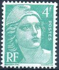 France 1948 Marianne type Gandon b