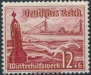 Germany-Third Reich 1937 Winter's Fund - Ships f