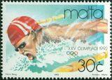 Malta 1992 Olympic Games - Barcelona c