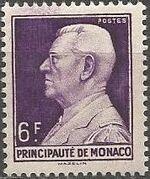 Monaco 1948 Prince Louis II of Monaco (1870-1949) c