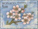 Monaco 1993 The Four Seasons of an Almond Tree a