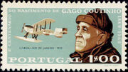 Portugal 1969 100th Anniversary of the birth of Admiral Gago Coutinho a