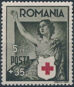 Romania 1941 Red Cross c