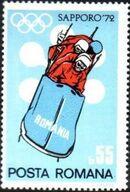 Romania 1971 Olympic Games Sapporo' 72 d