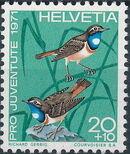 Switzerland 1971 PRO JUVENTUTE - Birds b