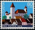 Switzerland 1979 PRO PATRIA - Castles d