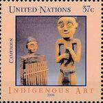 United Nations-New York 2006 Indigenous Art f