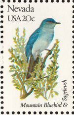 United States of America 1982 State birds and flowers z