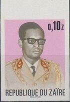 Zaire 1973 President Joseph Desiré Mobutu k