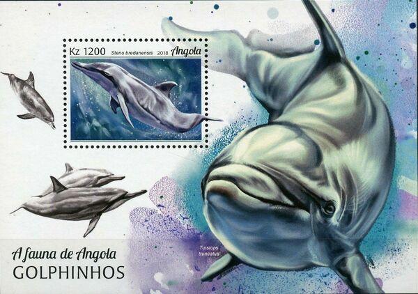 Angola 2018 Wildlife of Angola - Dolphins SSa