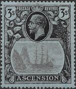 Ascension 1924 Seal of the Colony lc