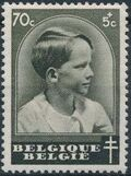 Belgium 1936 National Anti-Tuberculosis Society - Prince Boudewijn e