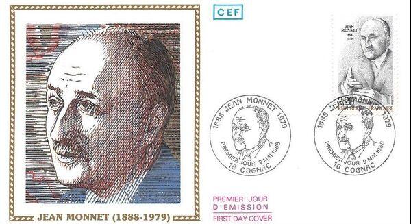 France 1988 Jean Monnet FDCb