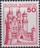 Germany, Federal Republic 1977 Strongholds and Castles d