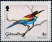 Gibraltar 1988 Birds a