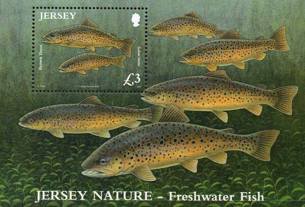 Jersey 2010 Jersey Nature - Freshwater Fish g