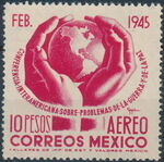 Mexico 1945 Inter-American Conference (Airmail) d