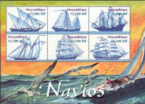 Mozambique 2002 Ships Sa