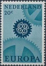 Netherlands 1967 Europa - CEPT a