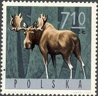 Poland 1965 Forest Animals i