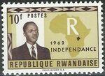 Rwanda 1962 Independence g