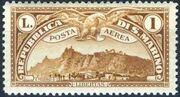 San Marino 1931 Air Post Stamps c
