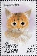 Sierra Leone 1993 Cats of the World d