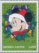 Sierra Leone 1997 Disney Christmas Stamps l
