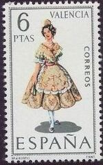 Spain 1971 Regional Costumes Issue a