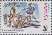 """Spain 1998 Scenes from """"Don Quixote"""" o"""