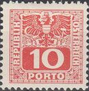 Austria 1945 Coat of Arms and Digit e