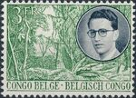 Belgian Congo 1955 King Baudouin First Trip to Congo b