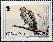 Gibraltar 1988 Birds c