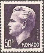 Monaco 1950 Prince Rainier III a