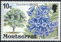 Montserrat 1976 Flowering Trees e